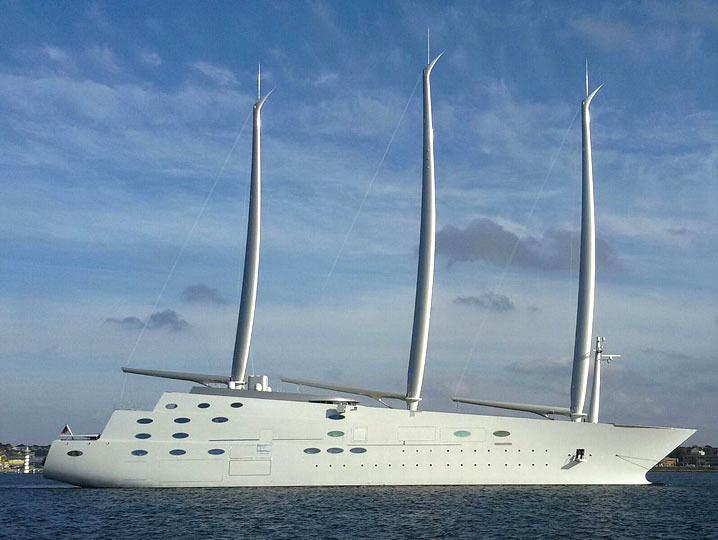 New Battle over Largest Sailing Yacht - Latitude38